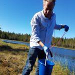 Forskningsgenombrott: En kanna vatten avslöjar vilka fiskarter som finns i en sjö