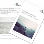 Två rapporter om sjöfartens miljöpåverkan och rumsliga behov